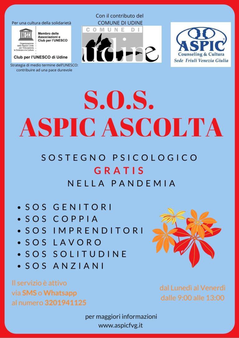 SOS ASPIC ASCOLTA