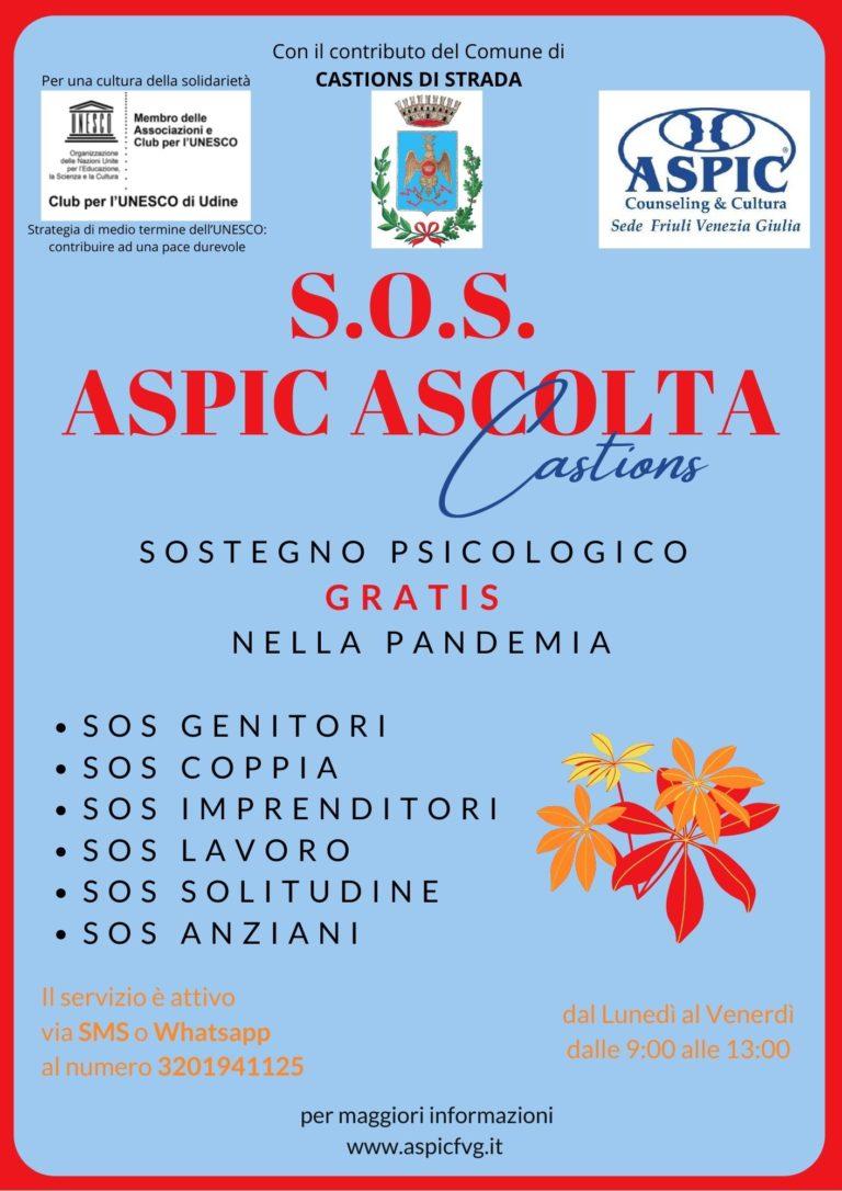 SOS Castions VOLANTINO