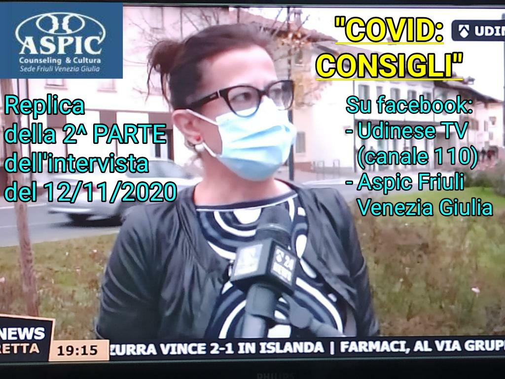 COVID: CONSIGLI pt.2